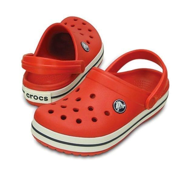 Crocs-Croc-Band-Red-White-2