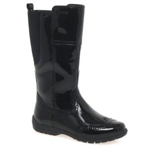 Geox Crissy Patent Boots