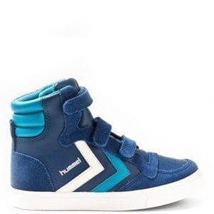 Hummel Stadil Leather Sneaker Blue