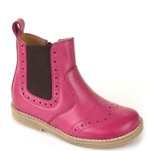 Froddo Fuchsia Chelsea Boots