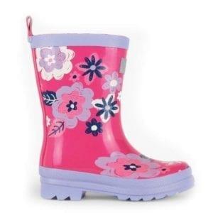 Hatley Sketchy Wintery Blooms Rainboots