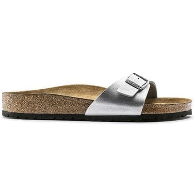 40411 Birkenstock Madrid silver sandals