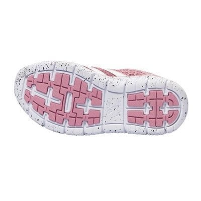 Hummel Crosslite JR Girl Trainers In Foxglove Pink with White