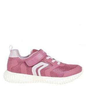 Geox Waviness Pink Trainer