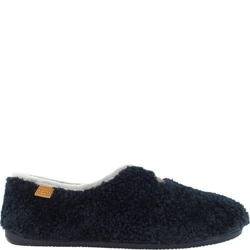 Gioseppo Blue Soft Slippers