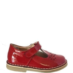 Petasil Cecil Red Patent Shoes