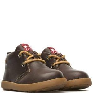 Camper Bryn Lace Boot Brown