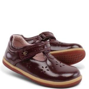 Bobux Gloss Plum Shoes