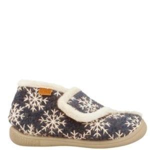 Gioseppo Snowflake Grey Slippers