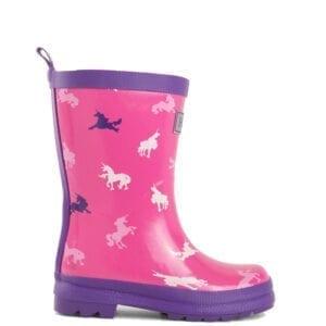 Hatley Unicorn Silhouettes Rainboots