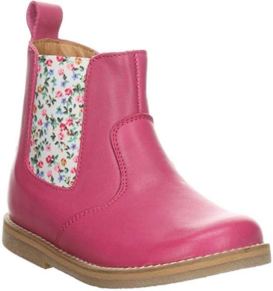 Froddo Floral Chelsea Boot Fuchsia