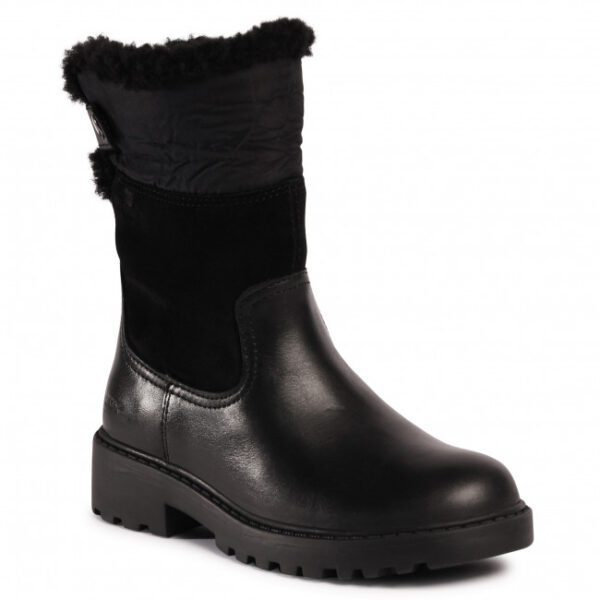 Geox Casey Black Boot