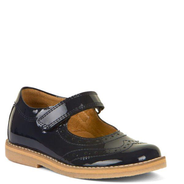 Froddo Evia Blue Patent Shoes