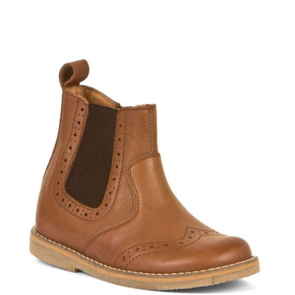 Froddo Chelys Tan Brogue Leather Boot